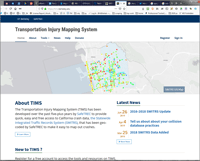 Visit the Traffic Injury Mapping System (TIMS)